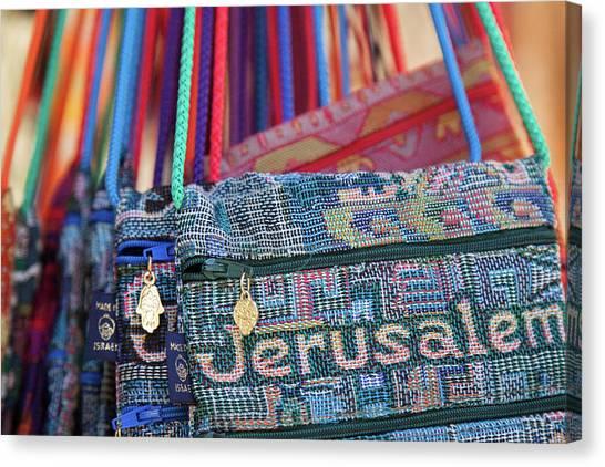 Colors Of Jerusalem Canvas Print