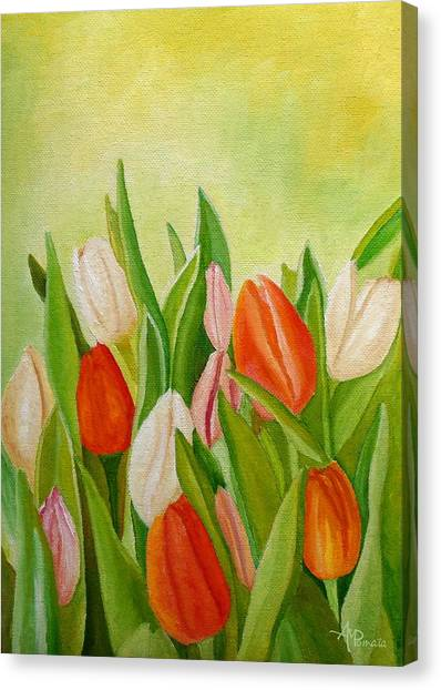 Colors Of Spring Canvas Print
