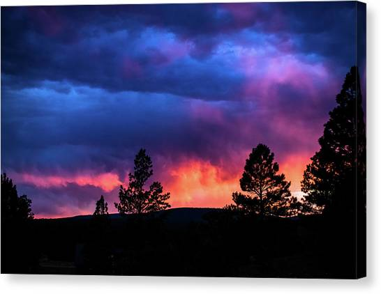 Canvas Print featuring the photograph Colors Of The Spirit by Jason Coward
