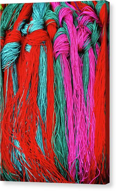 Colors Of Tibet Canvas Print