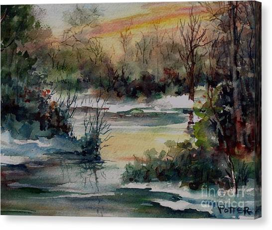 Colors Of Winter Canvas Print