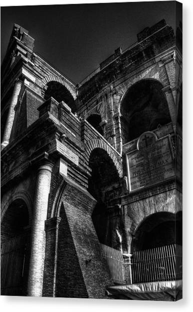 Coloseo 3 Canvas Print by Brian Thomson