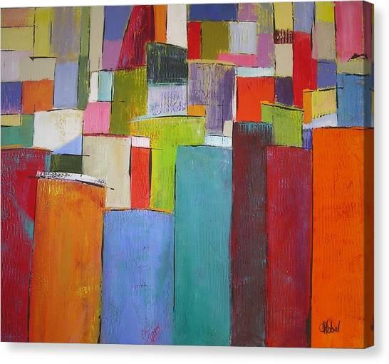 Colour Block7 Canvas Print