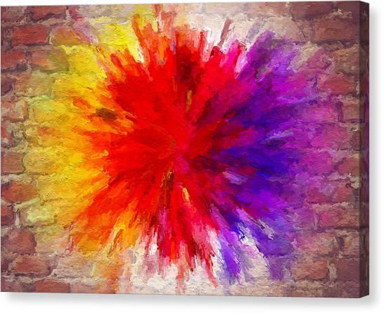 Colour To Lift Your Soul Canvas Print