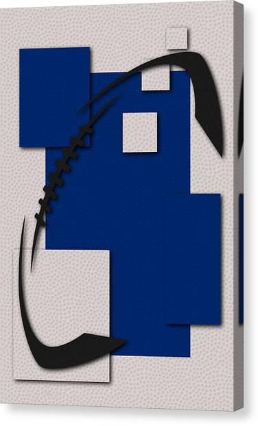 Indianapolis Colts Canvas Print - Colts Football Art by Joe Hamilton