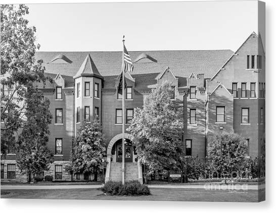 Columbia University Canvas Print - Columbia College St. Clair Hall by University Icons