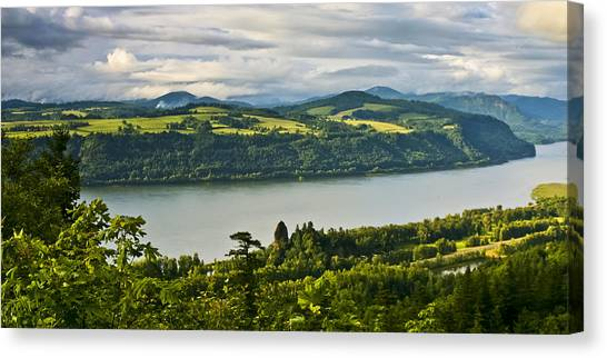 Columbia Gorge Scenic Area Canvas Print