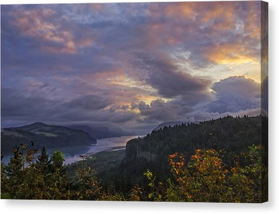 Columbia Gorge Sunrise Canvas Print