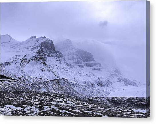 Columbia Ice Fields Canvas Print