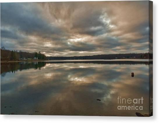 Columbia Lake Canvas Print