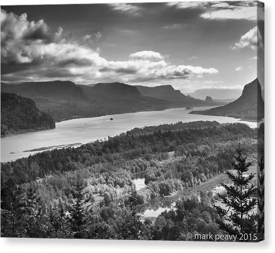 Columbia River Gourge Canvas Print