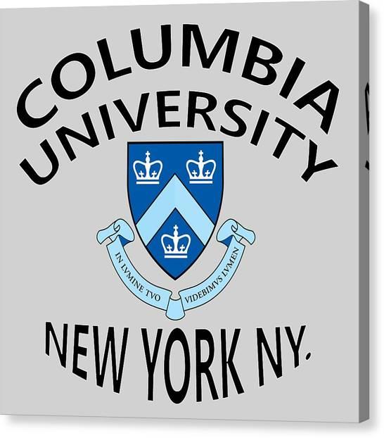 Columbia University New York Canvas Print