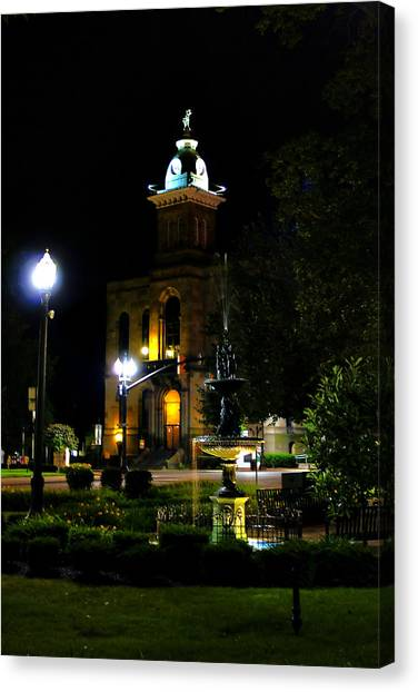 Columbiana Cty Courthouse Canvas Print