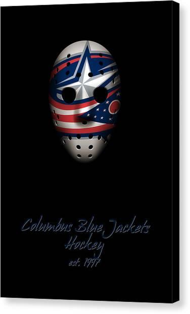 Columbus Blue Jackets Canvas Print - Columbus Blue Jackets Established by Joe Hamilton