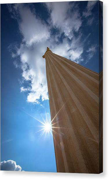 Column To Sky Canvas Print