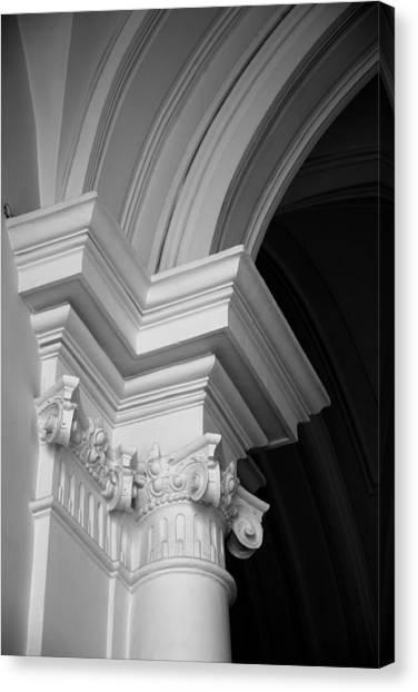 Columns At Hermitage Canvas Print