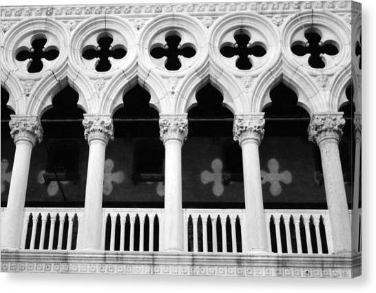 San Marco Canvas Print - Columns- By Linda Woods by Linda Woods