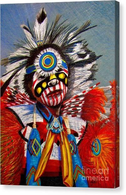Comanche Dance Canvas Print