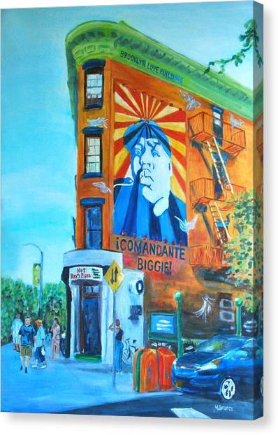 Comandante Biggie Canvas Print by Wayne Pearce