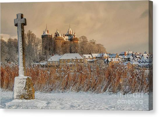 Combourg Castle 2 Canvas Print