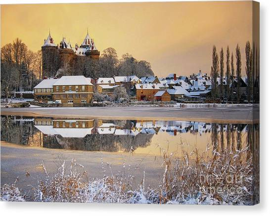 Combourg Castle  Canvas Print