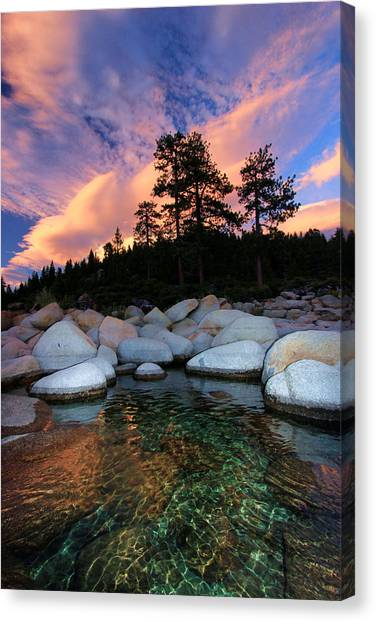 Canvas Print featuring the photograph Come Into My World by Sean Sarsfield