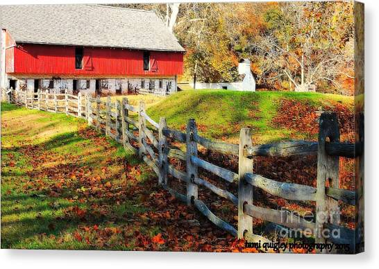 Come October Canvas Print