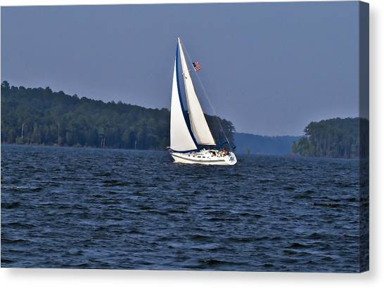 Come Sail With Me Canvas Print by Michael Whitaker