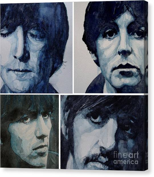 George Harrison Canvas Print - Come Together by Paul Lovering