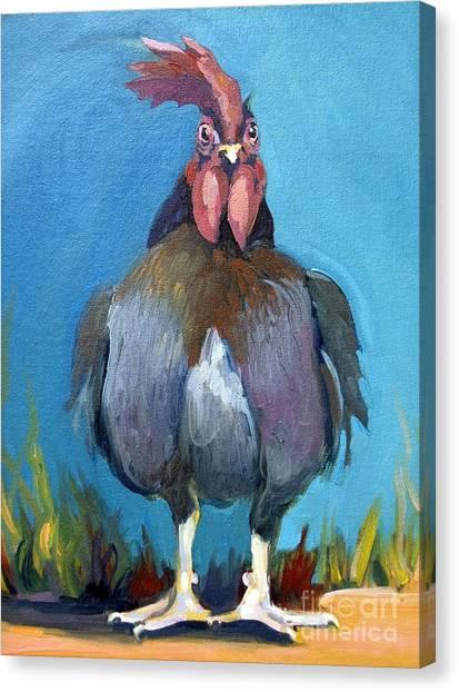 Comeback Chicken Canvas Print