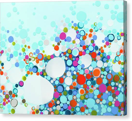 Canvas Print - Comfortable In Chaos by Claire Desjardins