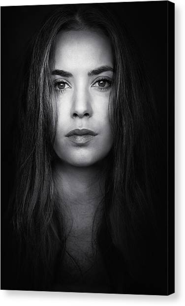 Natural Canvas Print - Coming From The Dark by Massimiliano Peluso