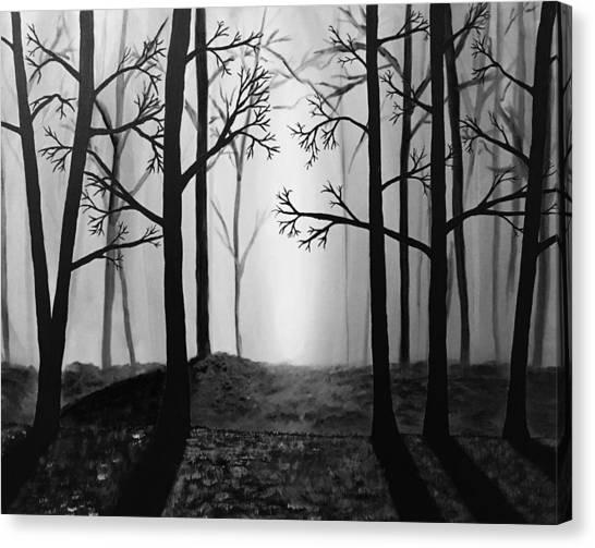 Coming Light Canvas Print