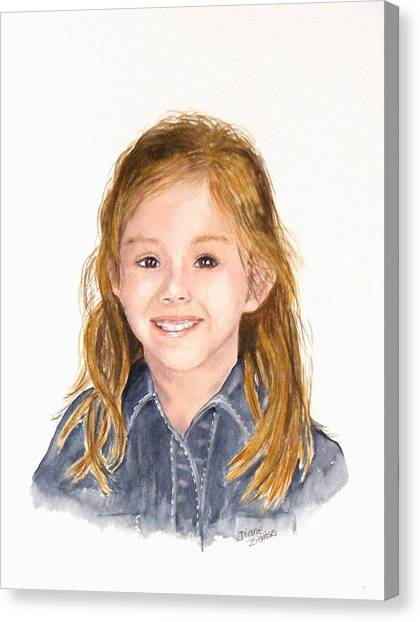 Commissioned Portrait 3 Canvas Print
