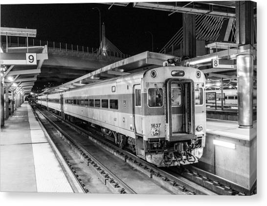 Commuter Rail Canvas Print