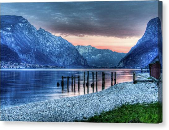 Como's Lake Canvas Print