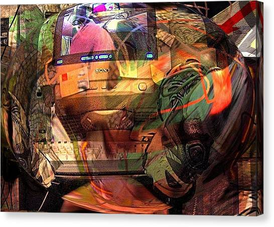 Comp 2 Canvas Print by Dave Kwinter