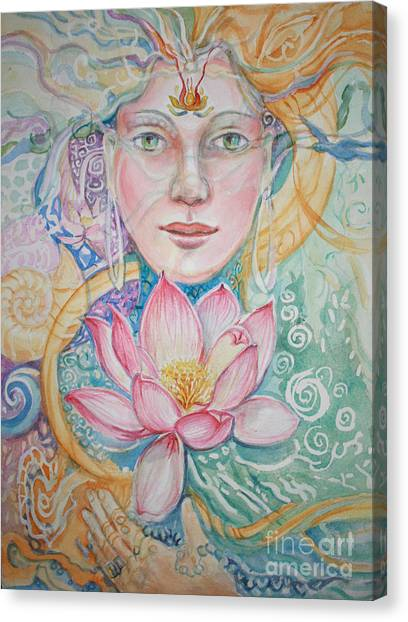 Compassion Canvas Print by Catherine Moore