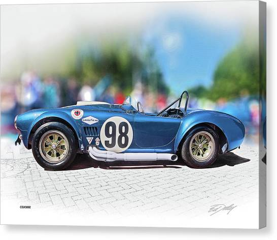Competition Cobra Canvas Print