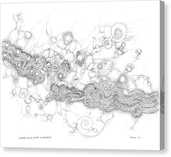 Complex Fluid  Canvas Print