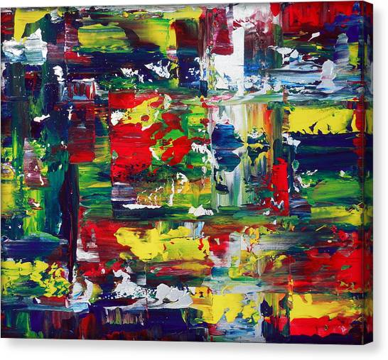 Gerhard Richter Canvas Print - Complexity by Holly Anderson