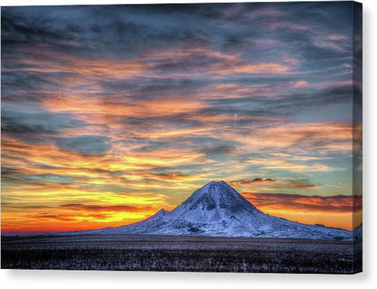 Complicated Sunrise Canvas Print