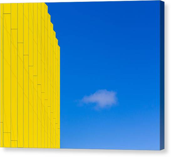 Northeastern University Canvas Print - Complimentary Cloud by Lauri Novak