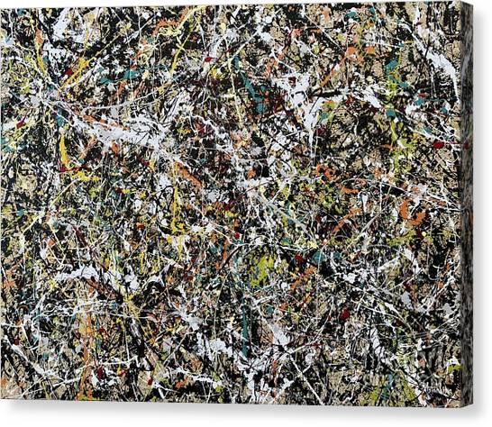 Composition #16 Canvas Print