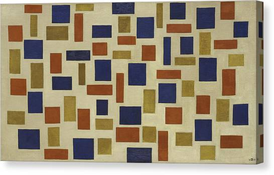 De Stijl Canvas Print - Composition Xi by Theo van Doesburg