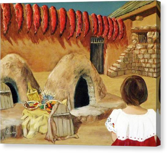 Compound Ovens Canvas Print