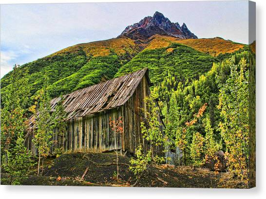 Compressor Shack Canvas Print