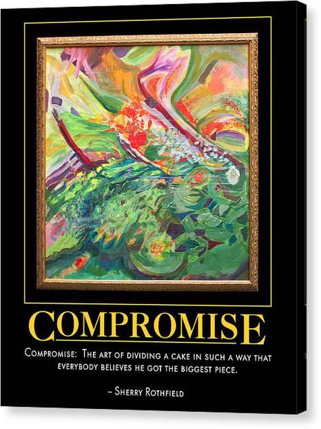 Compromise Canvas Print