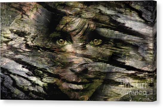 Concealed Emotions Canvas Print