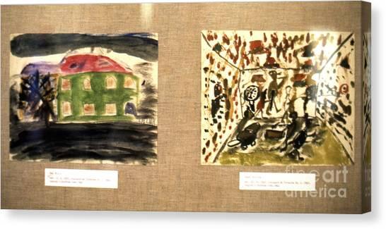 Concentration Camp Art Canvas Print